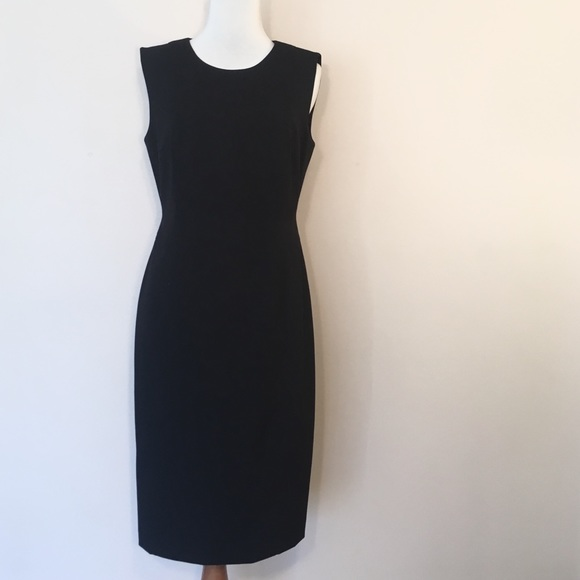 d93e0b2884092 Calvin Klein Dresses   Skirts - Calvin Klein Black Sleeveless Sheath Dress 4